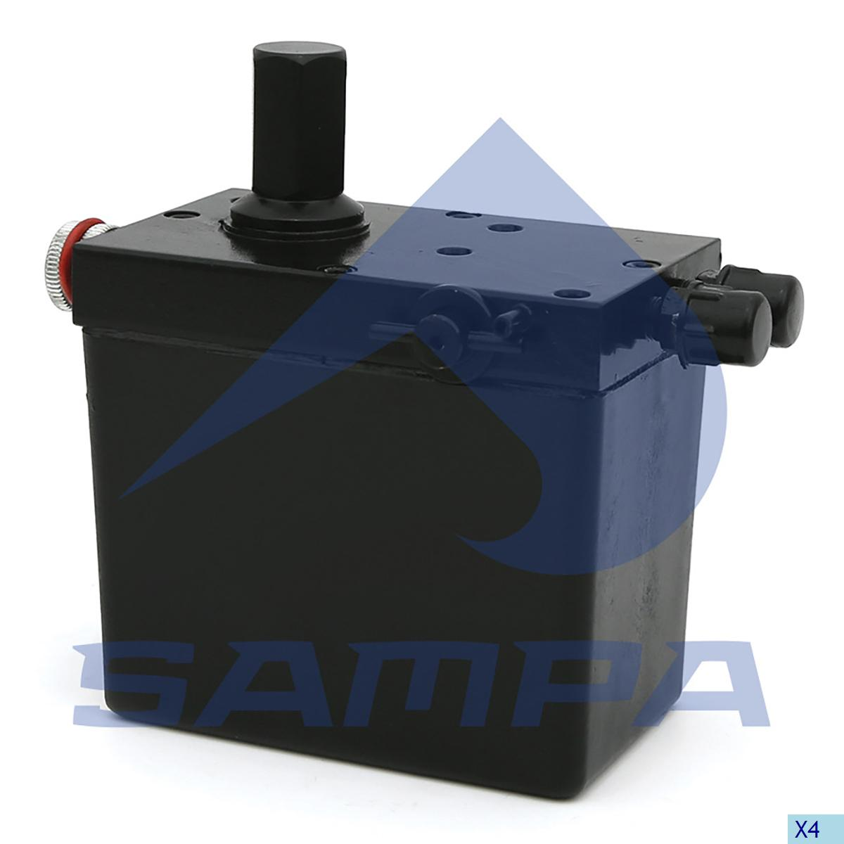 Hand Pump, Cab Tilt, Volvo, Cab