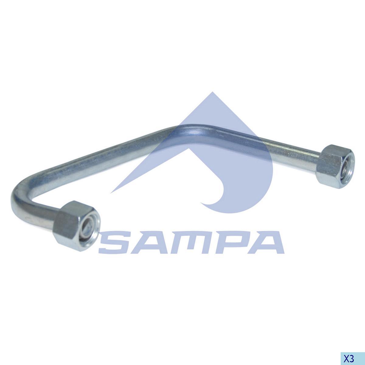 Pipe, Steering Pump, Volvo, Steering