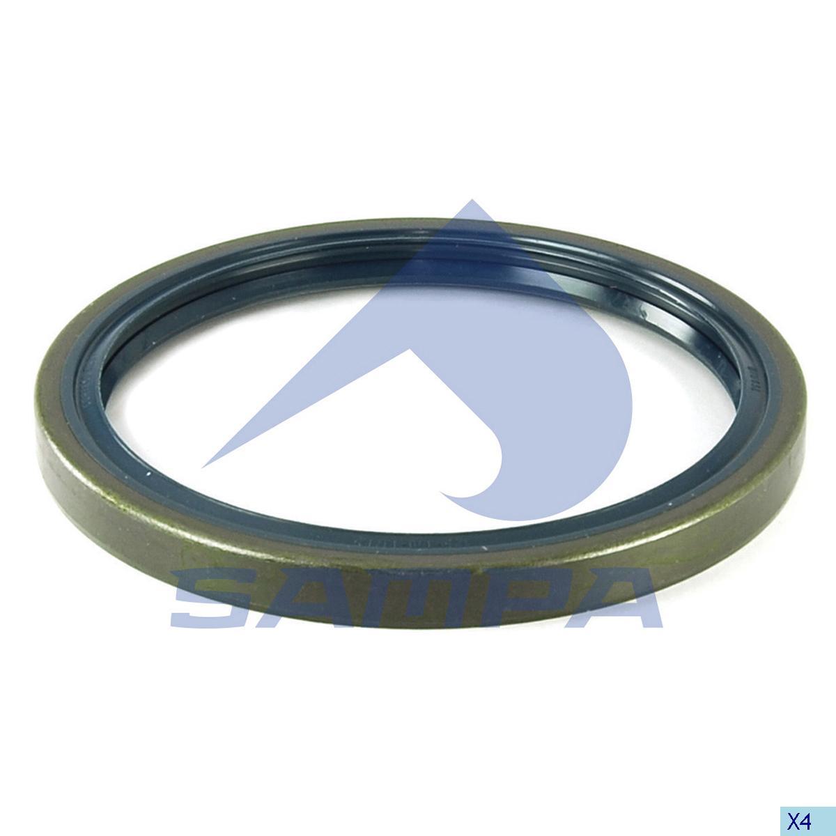 Seal Ring, Wheel Hub, Volvo, Power Unit