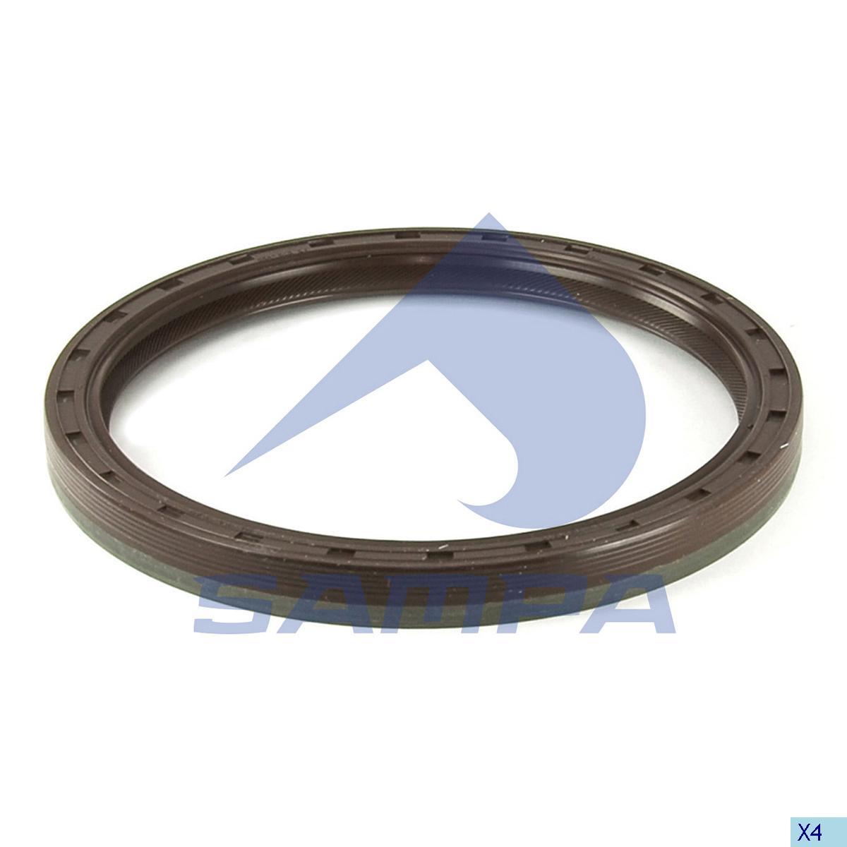 Seal Ring, Crank Shaft, Volvo, Engine