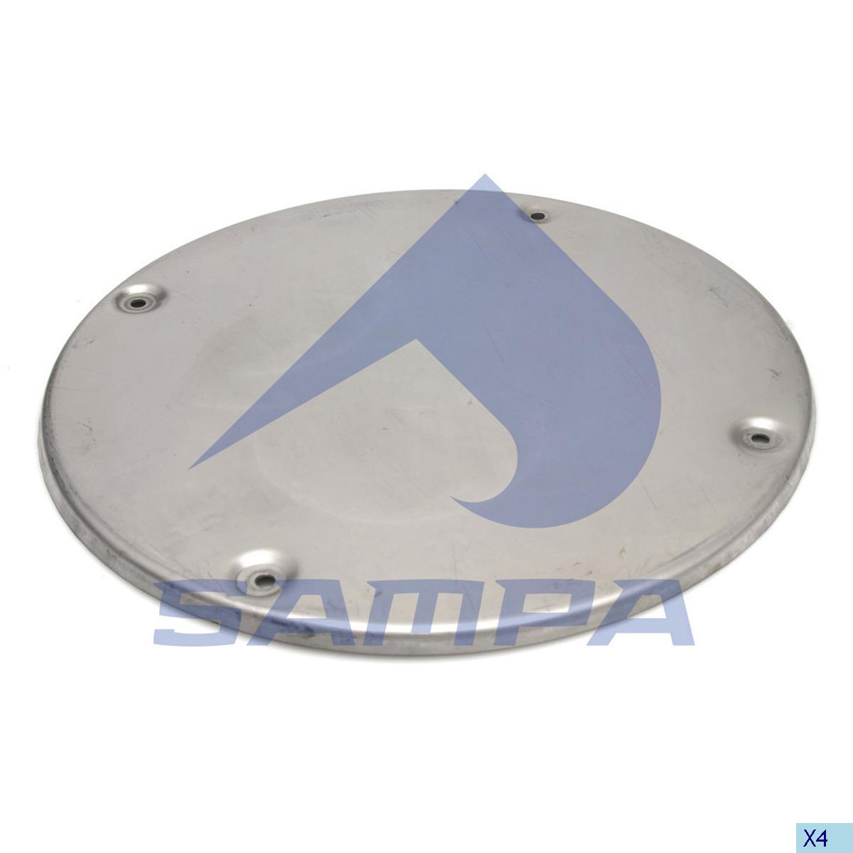 Heat Shield, Exhaust, Volvo, Engine