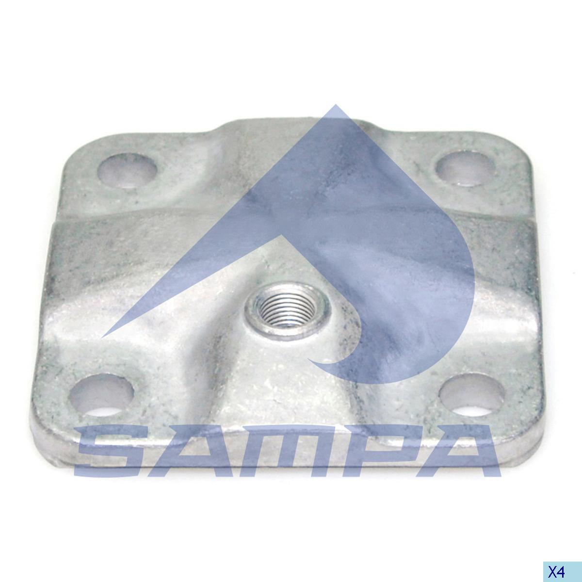 Cover, Axle Steering Knuckle, Volvo, Power Unit