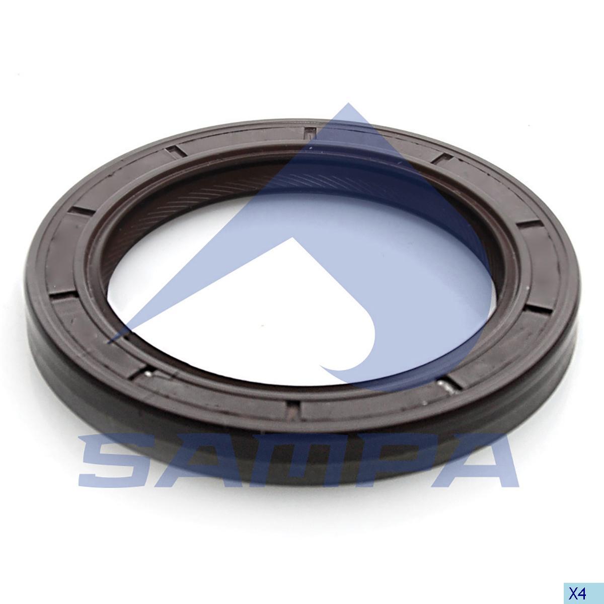 Seal Ring, Clutch Housing, Volvo, Clutch