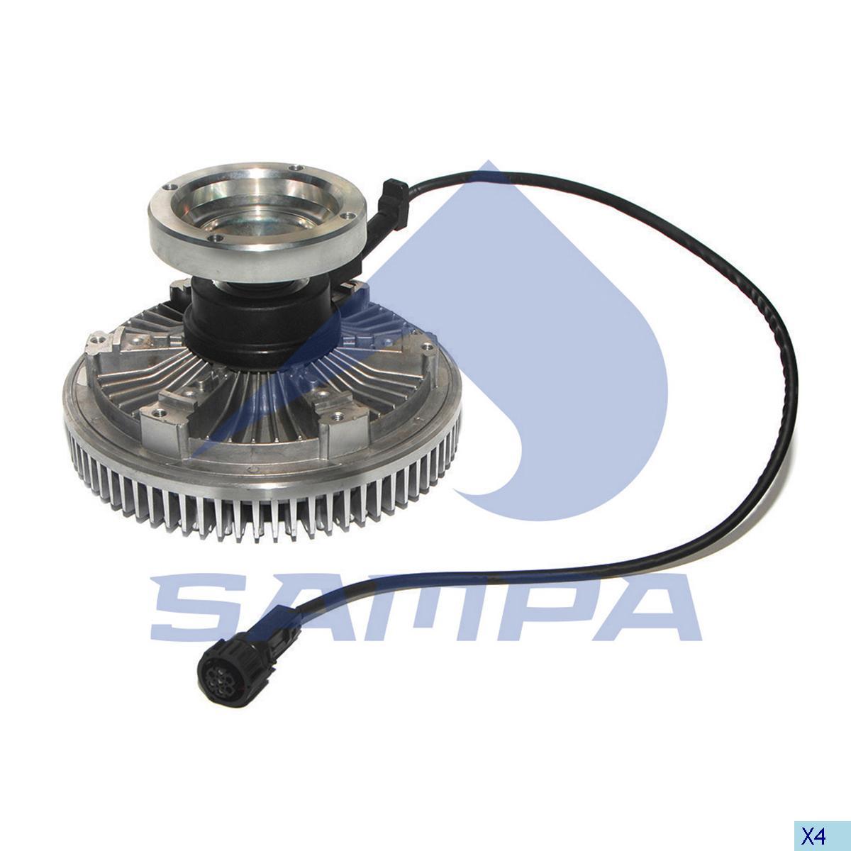Visco Drive, Fan, Volvo, Engine