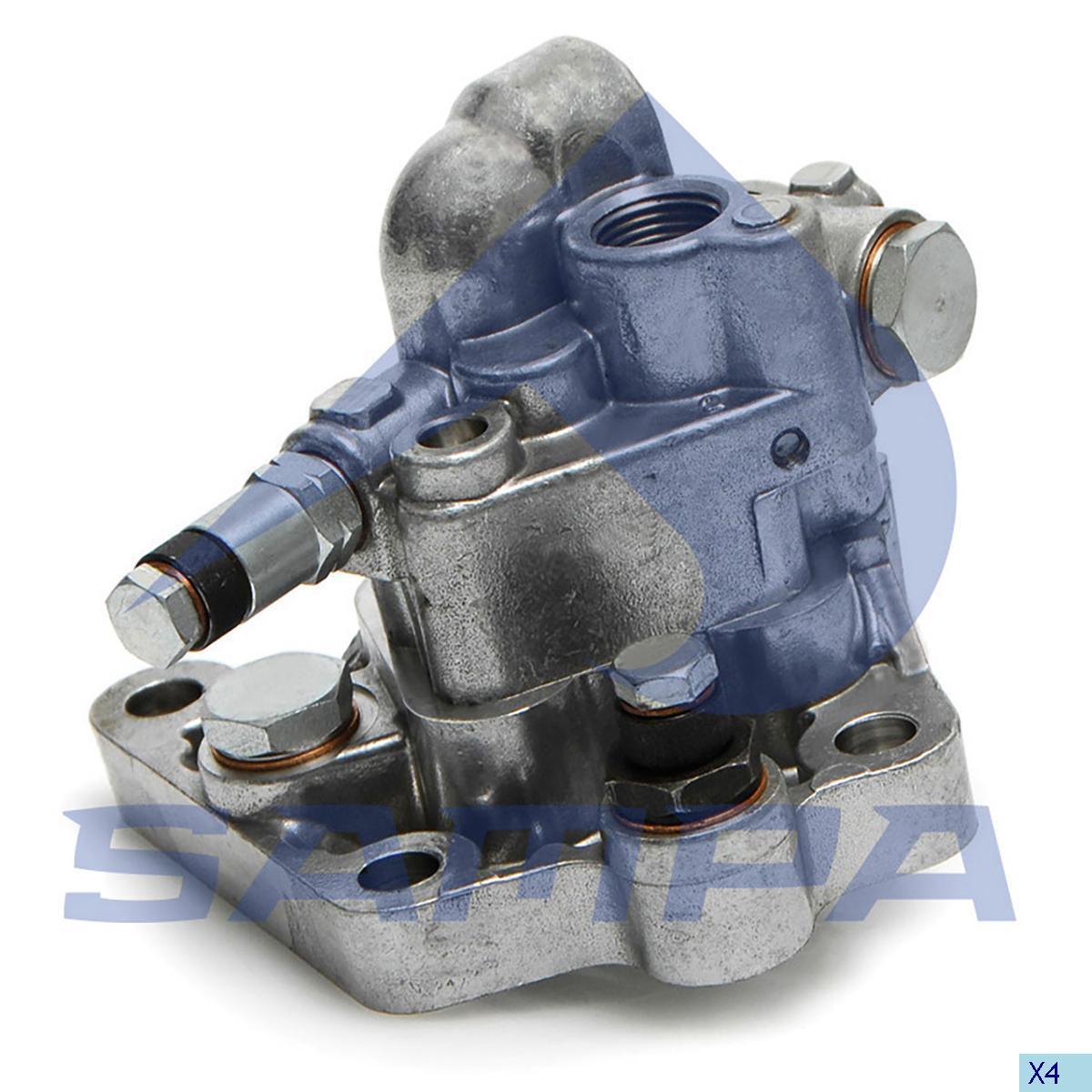 Feed Pump, Volvo, Engine