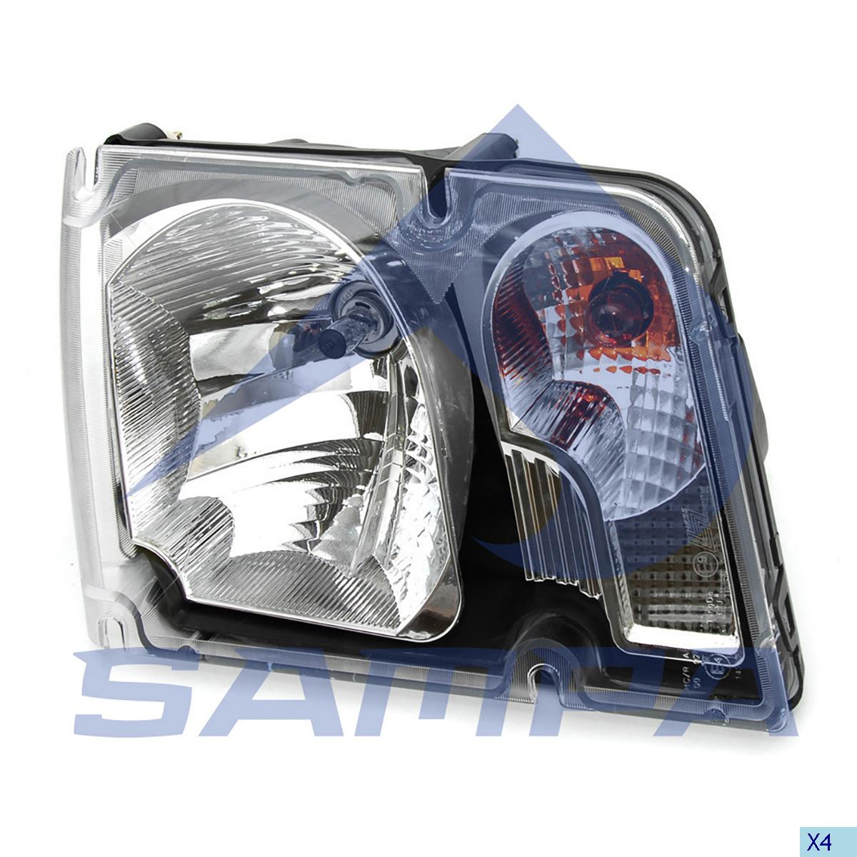 Head Lamp, Volvo, Electric System