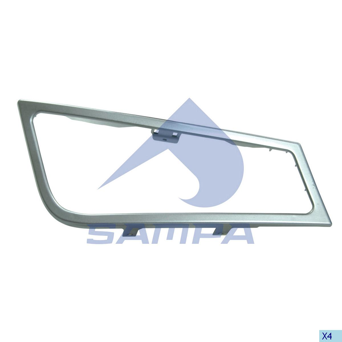 Frame, Fog Lamp, Volvo, Electric System