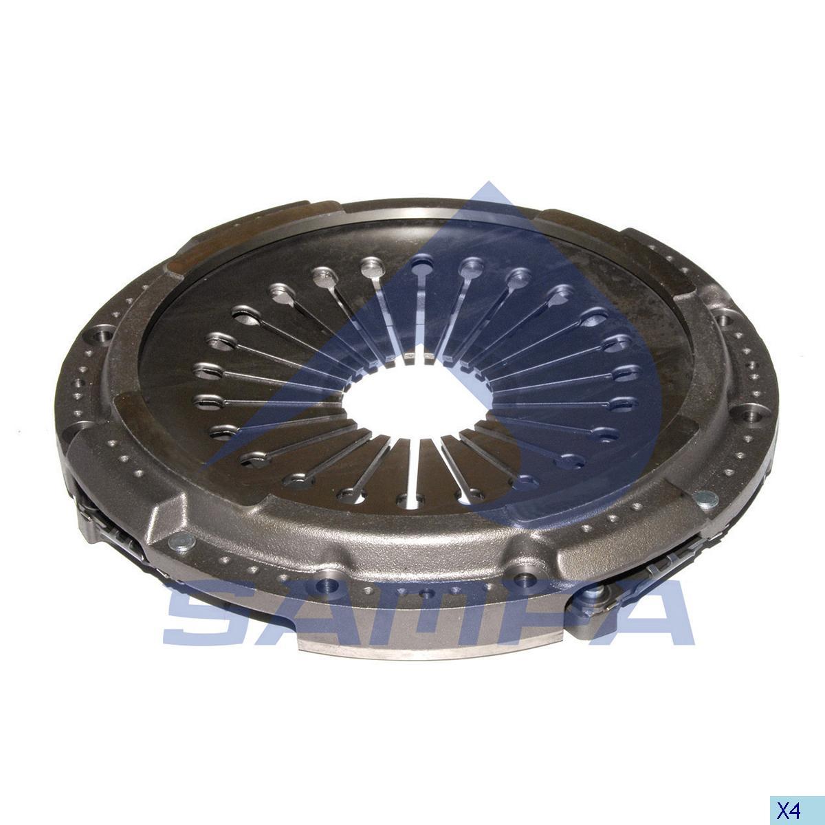 Pressure Plate, Clutch, Volvo, Clutch