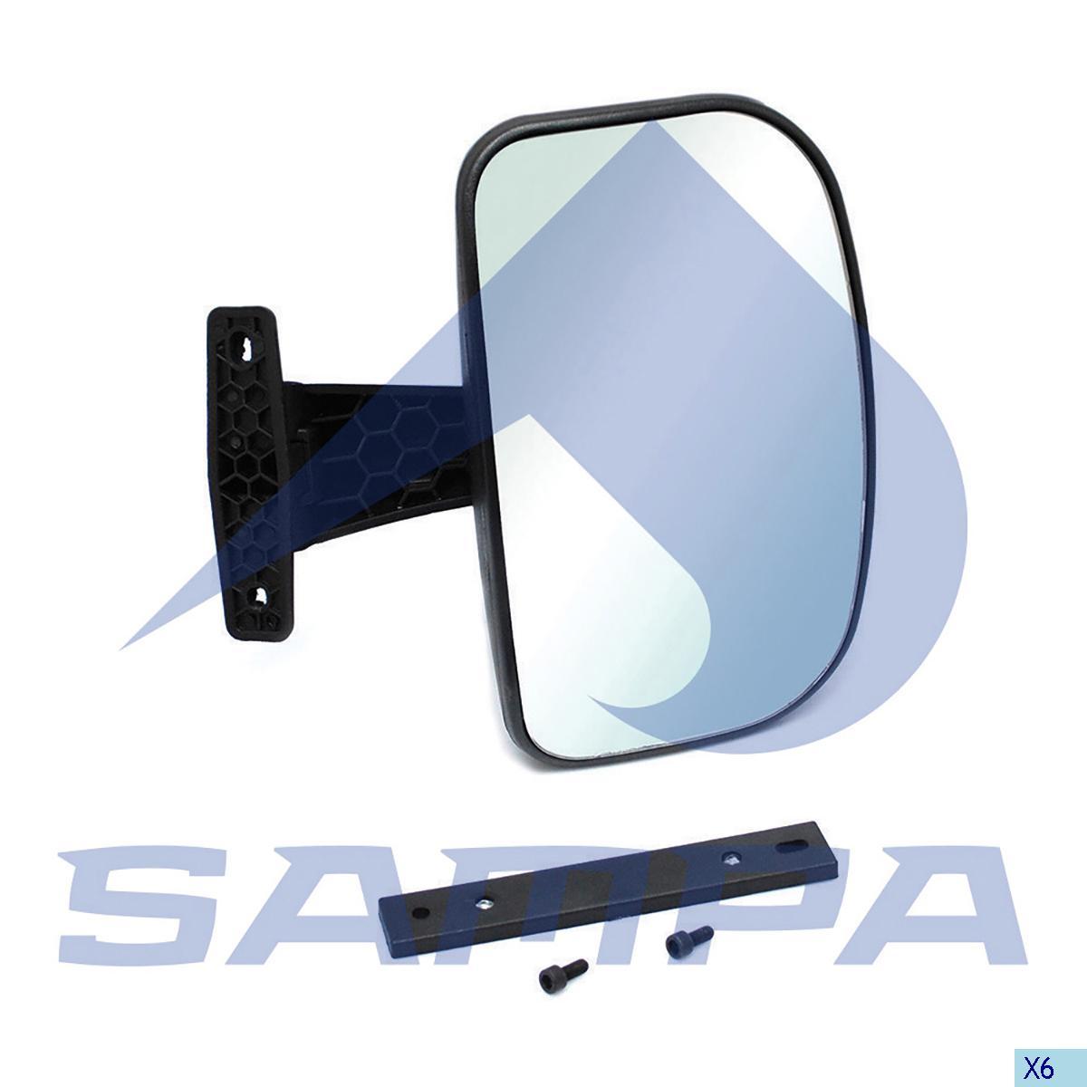 Mirror, Volvo, Cab
