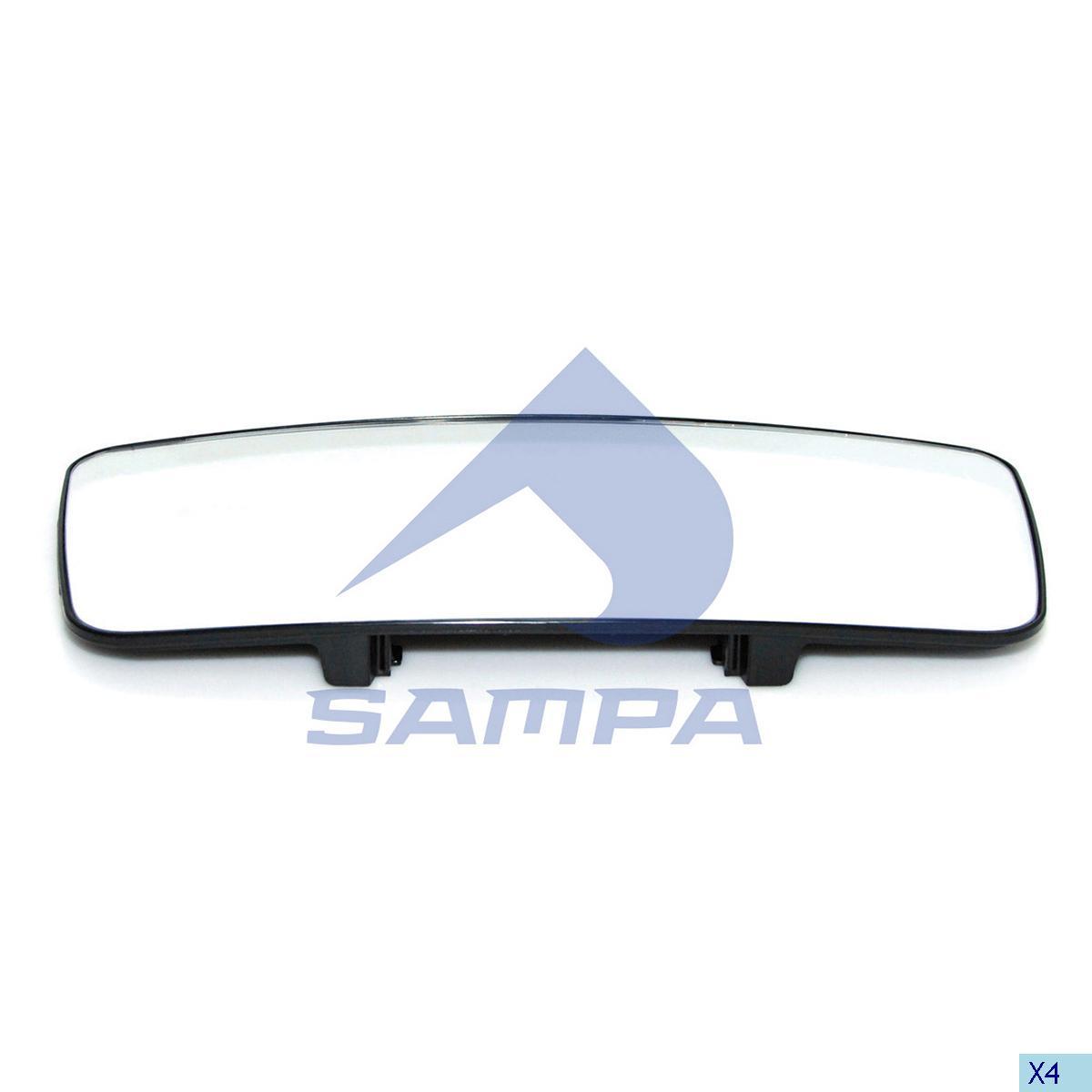 Mirror Glass, Volvo, Cab