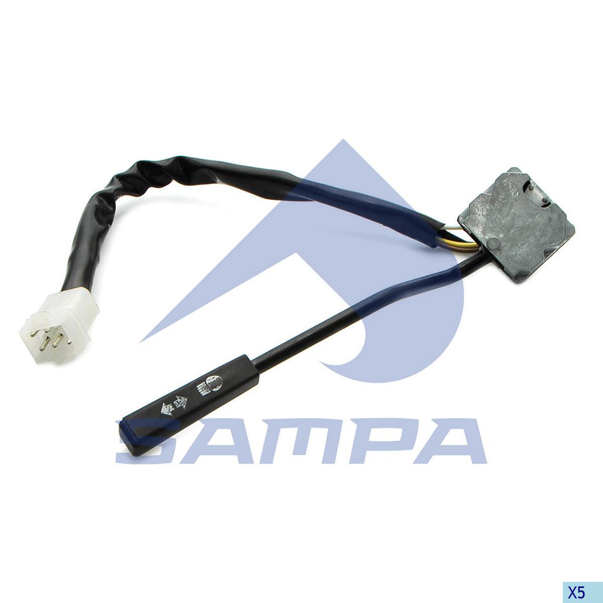 Signal Control Arm, Volvo, Cab