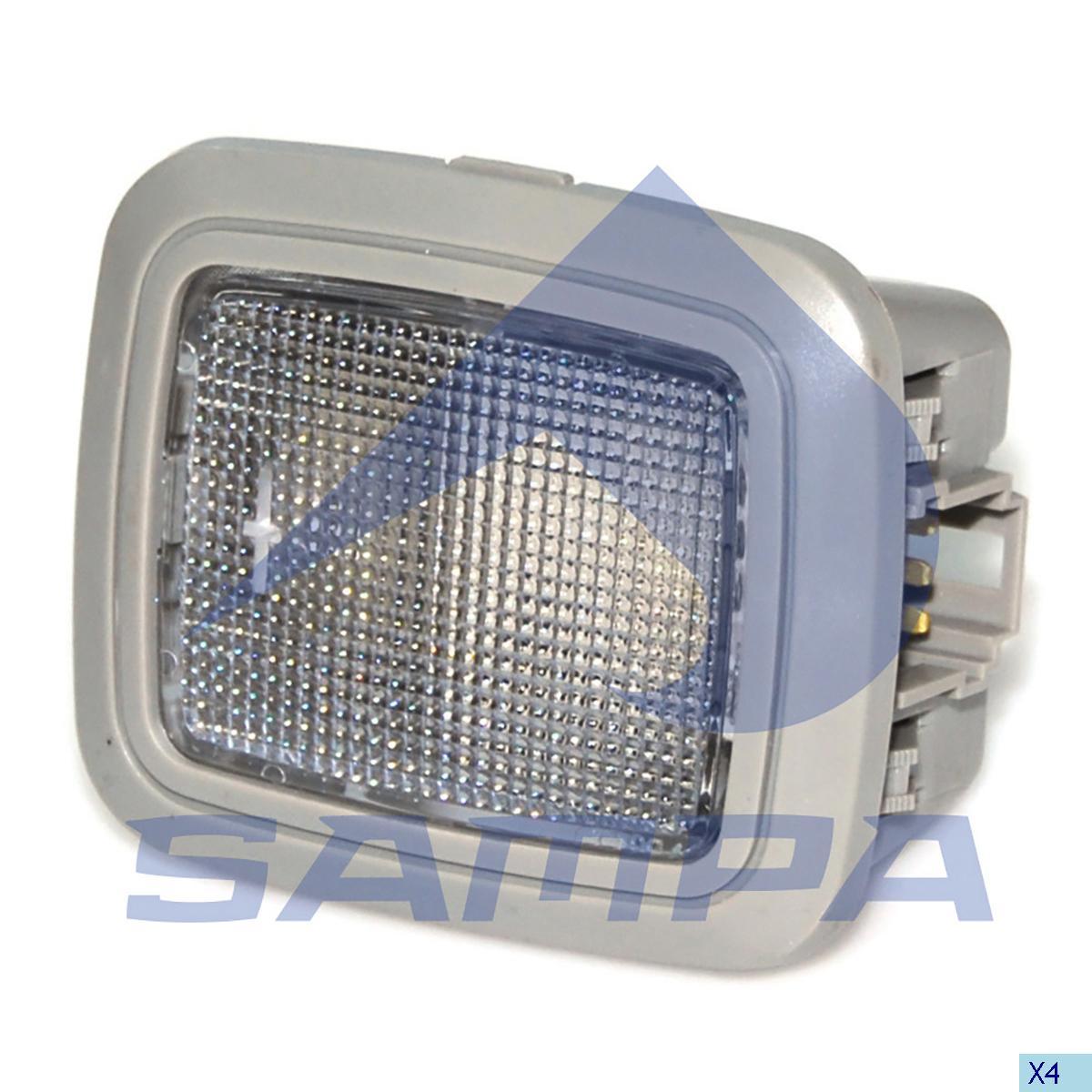 Door Lamp, Volvo, Electric System