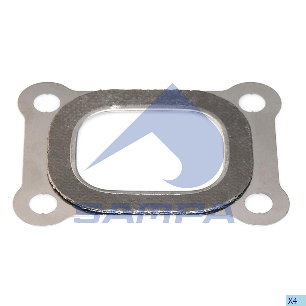 Gasket, Exhaust Manifold, Volvo, Engine