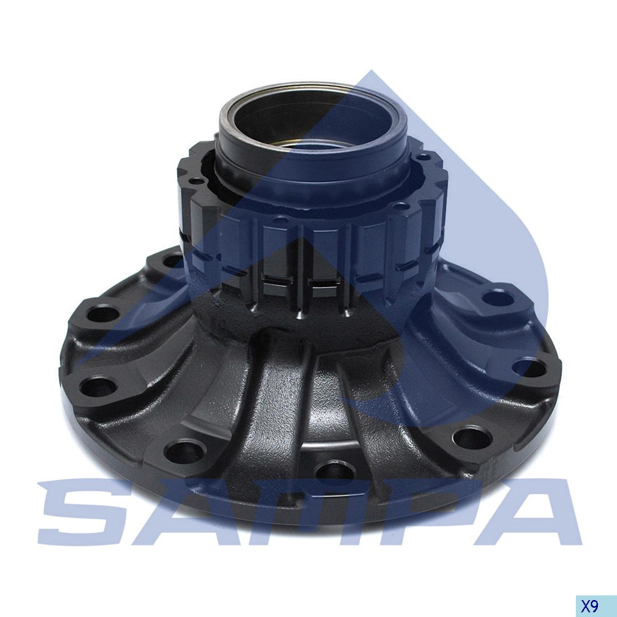 Wheel Hub, Volvo, Power Unit