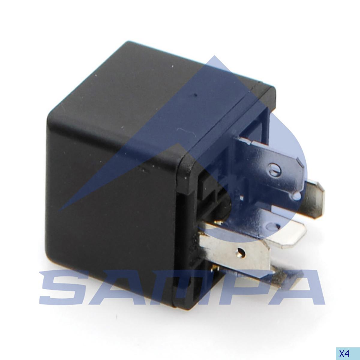 Relay, Central Electric Unit, Volvo, Electric System
