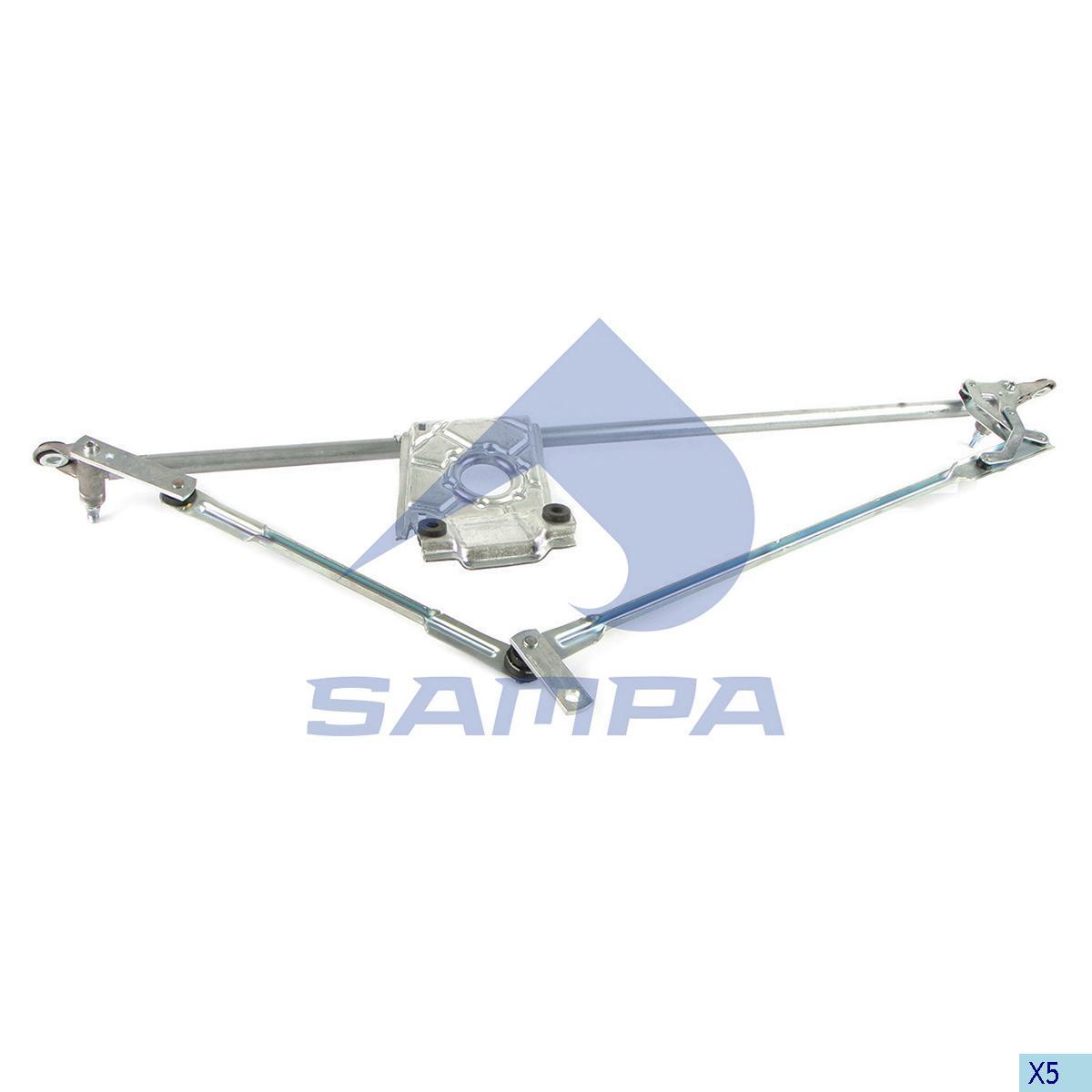 Windscreen Wiper, Mechanism, Volvo, Cab