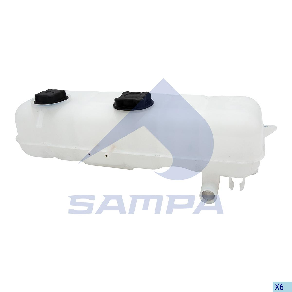 Expansion Tank, Radiator, Volvo, Engine