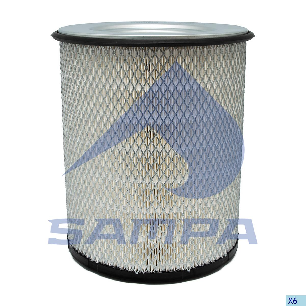 Air Filter Cartridge, Volvo, Engine