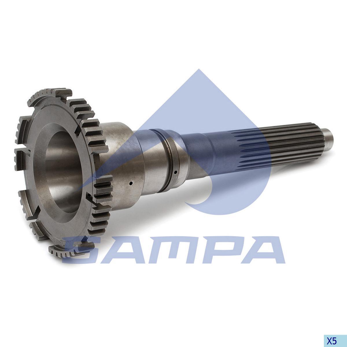 Input Shaft, Volvo, Gear Box