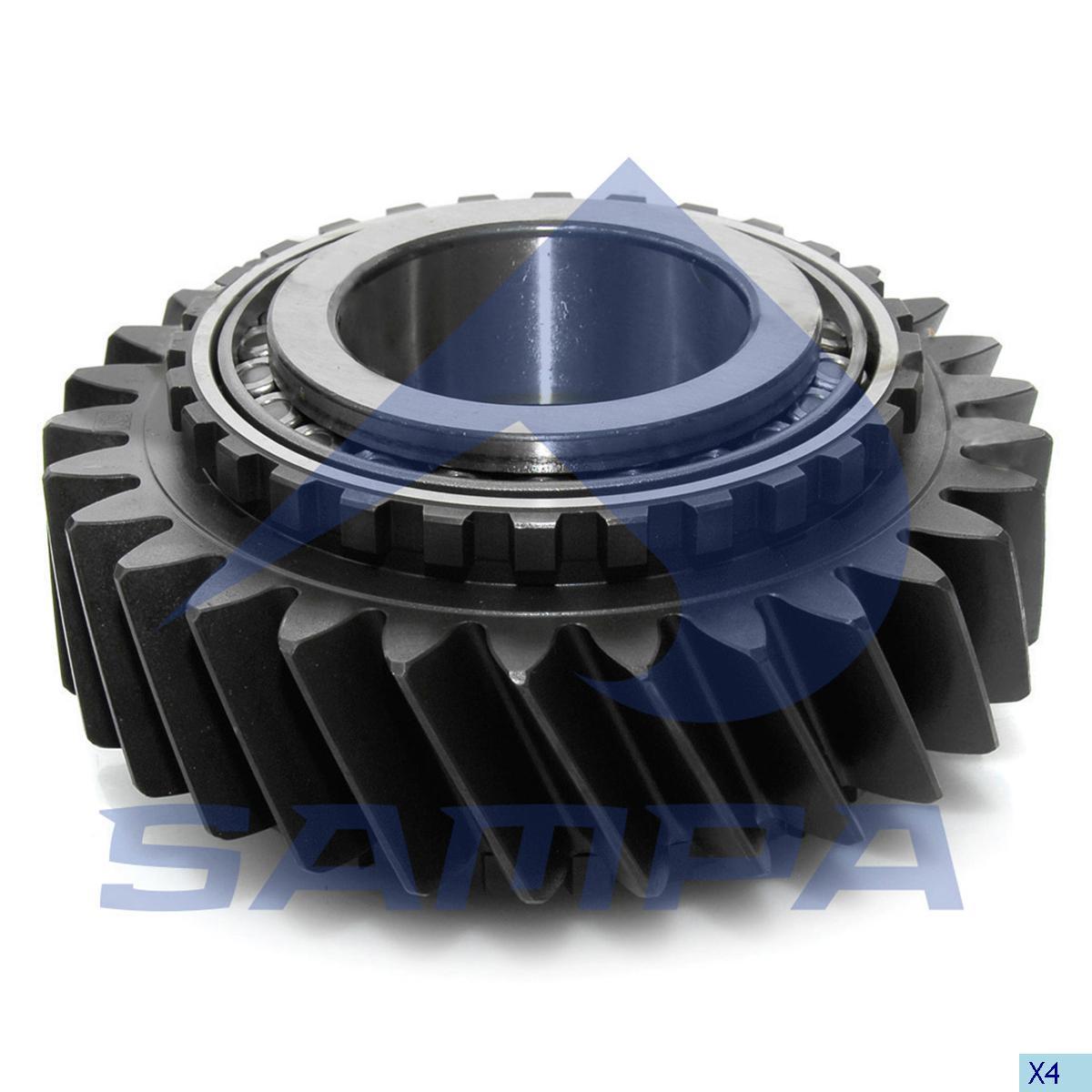 Gear, Main Shaft, Volvo, Gear Box