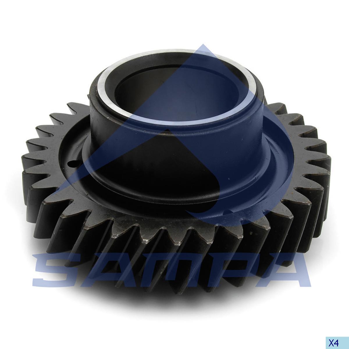 Gear, Counter Shaft, Volvo, Gear Box