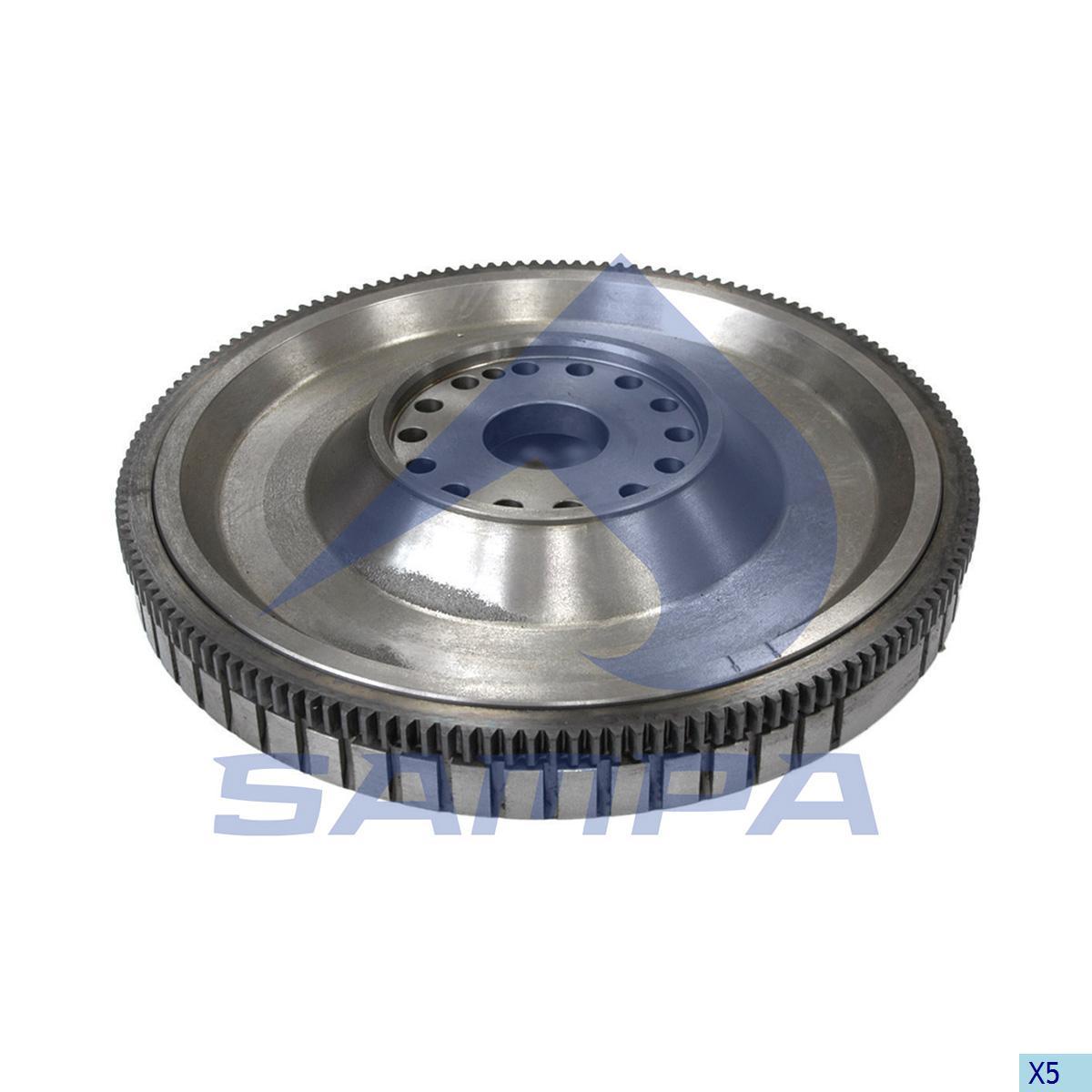 Flywheel, Volvo, Engine