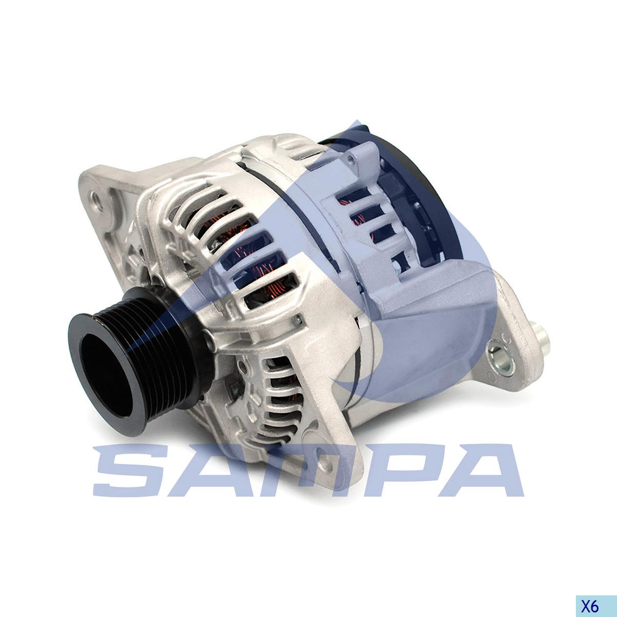 Alternator, Volvo, Electric System
