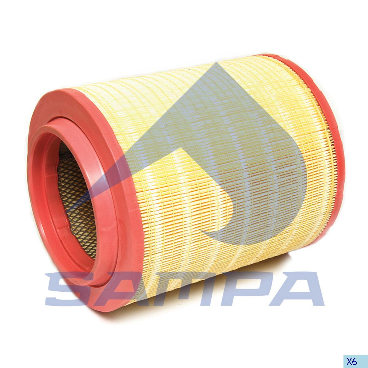 Inner, Air Filter, Volvo, Engine