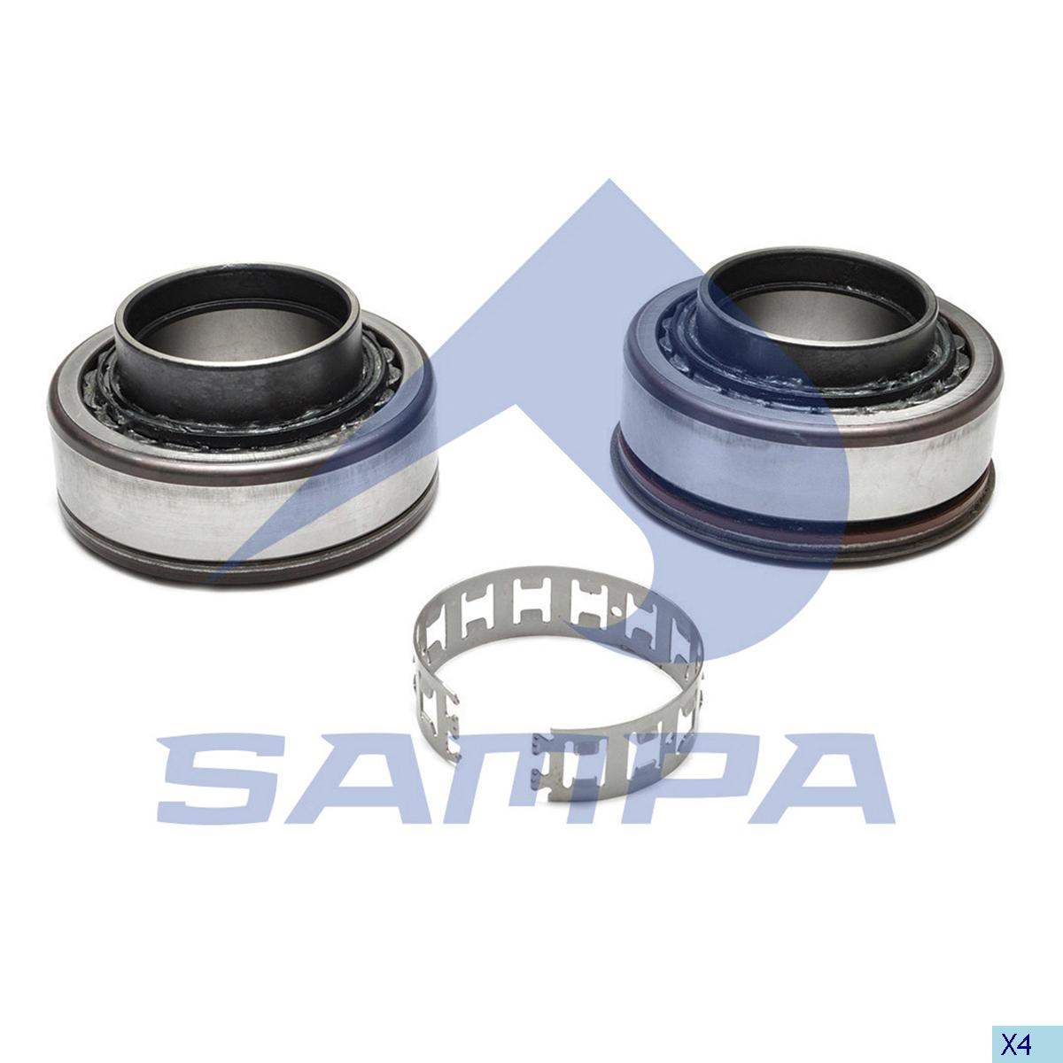 Bearing, Wheel Hub, Volvo, Power Unit