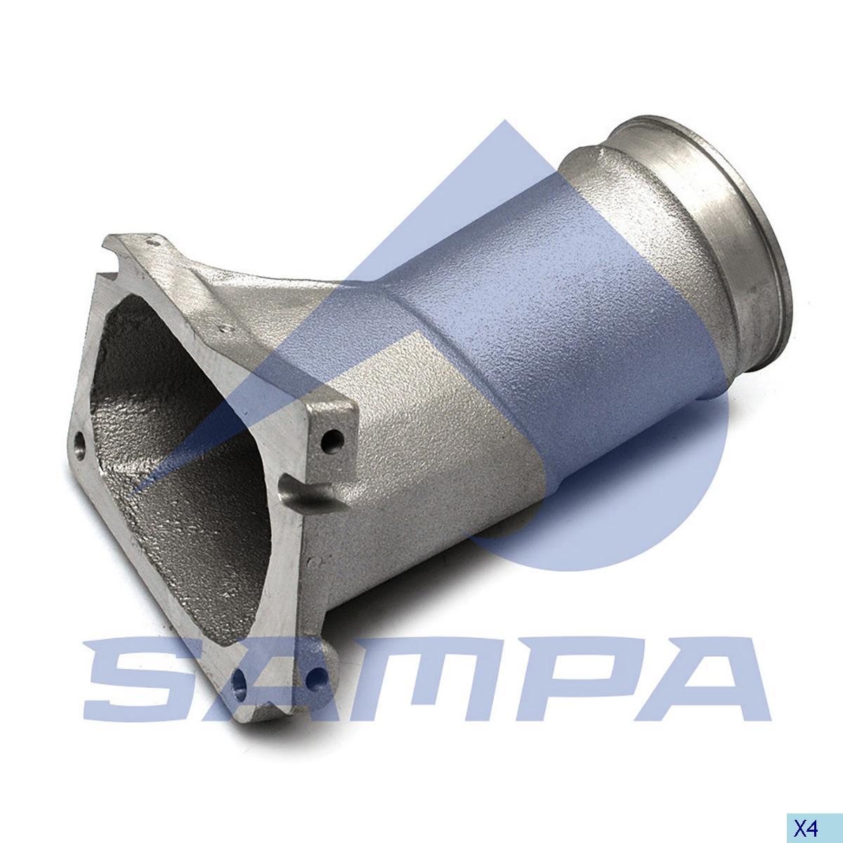 Pipe, Turbocharger, Volvo, Engine