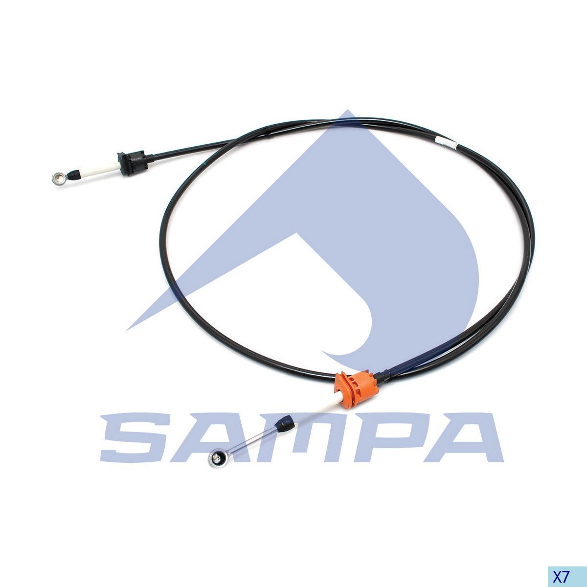 Cable, Gear Shift, Volvo, Gear Box