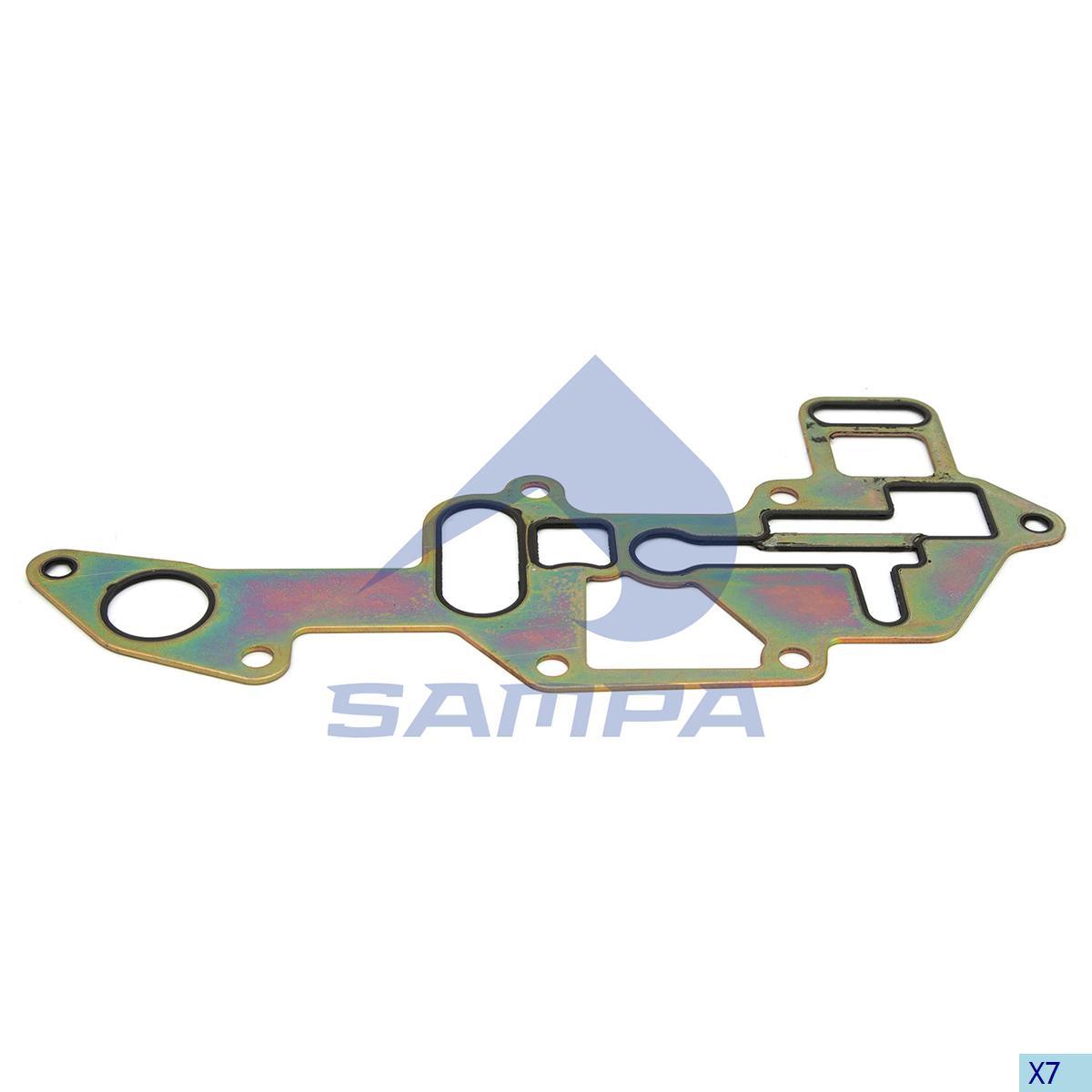 Gasket, Oil Filter, R.V.I., Engine