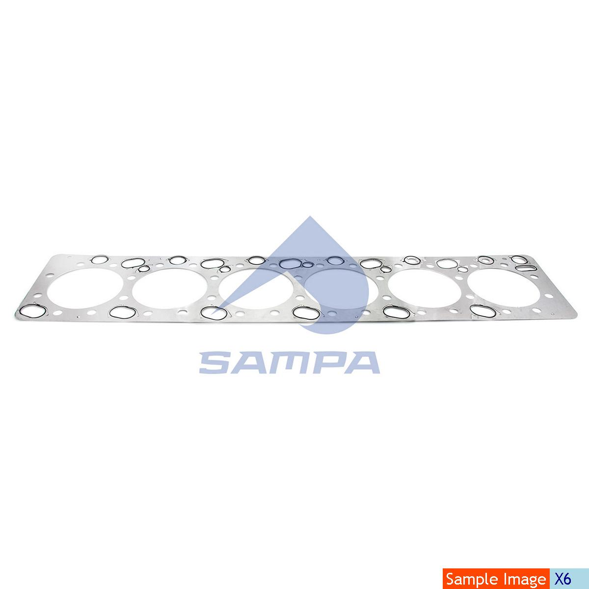 Gasket, Cylinder Head, R.V.I., Engine