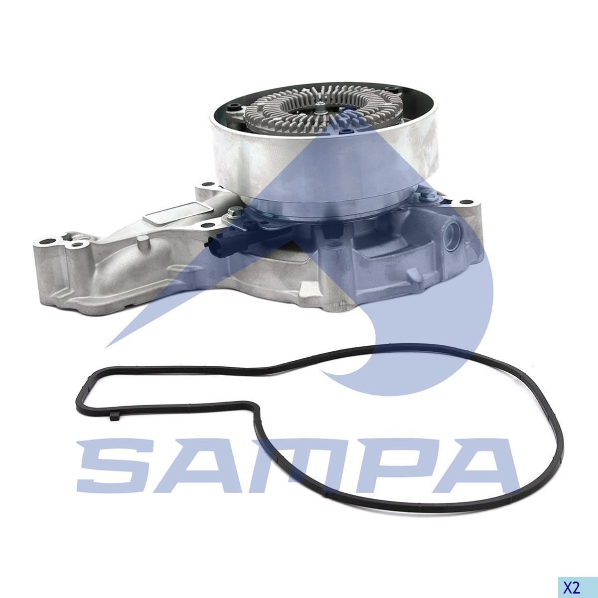 Water Pump, R.V.I., Engine