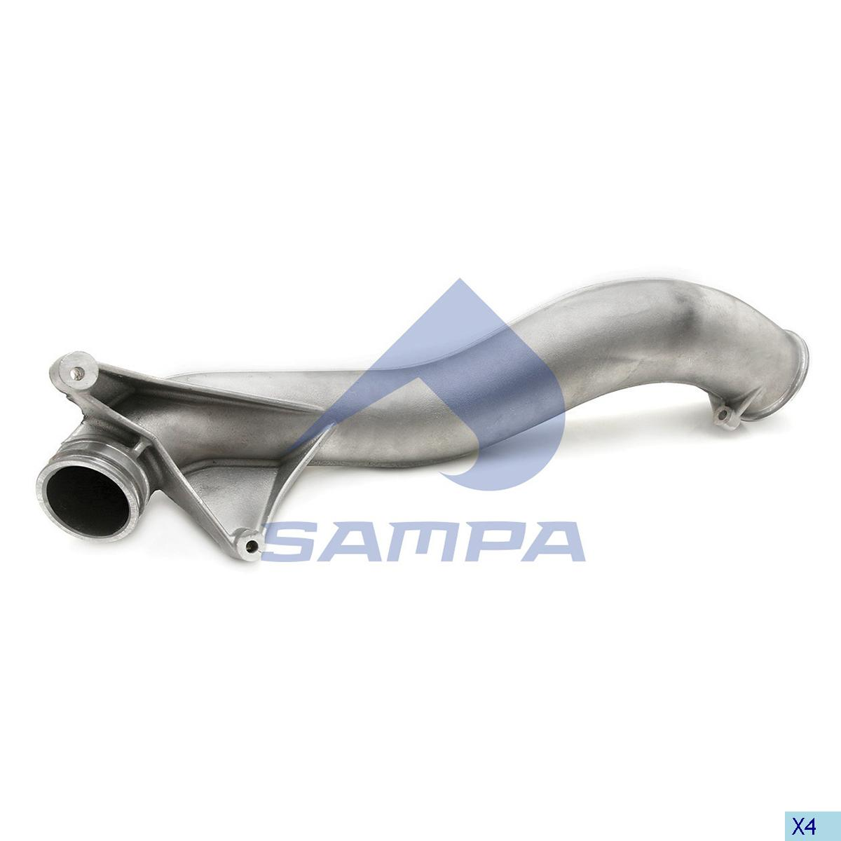 Pipe, Turbocharger, Volvo, Engine