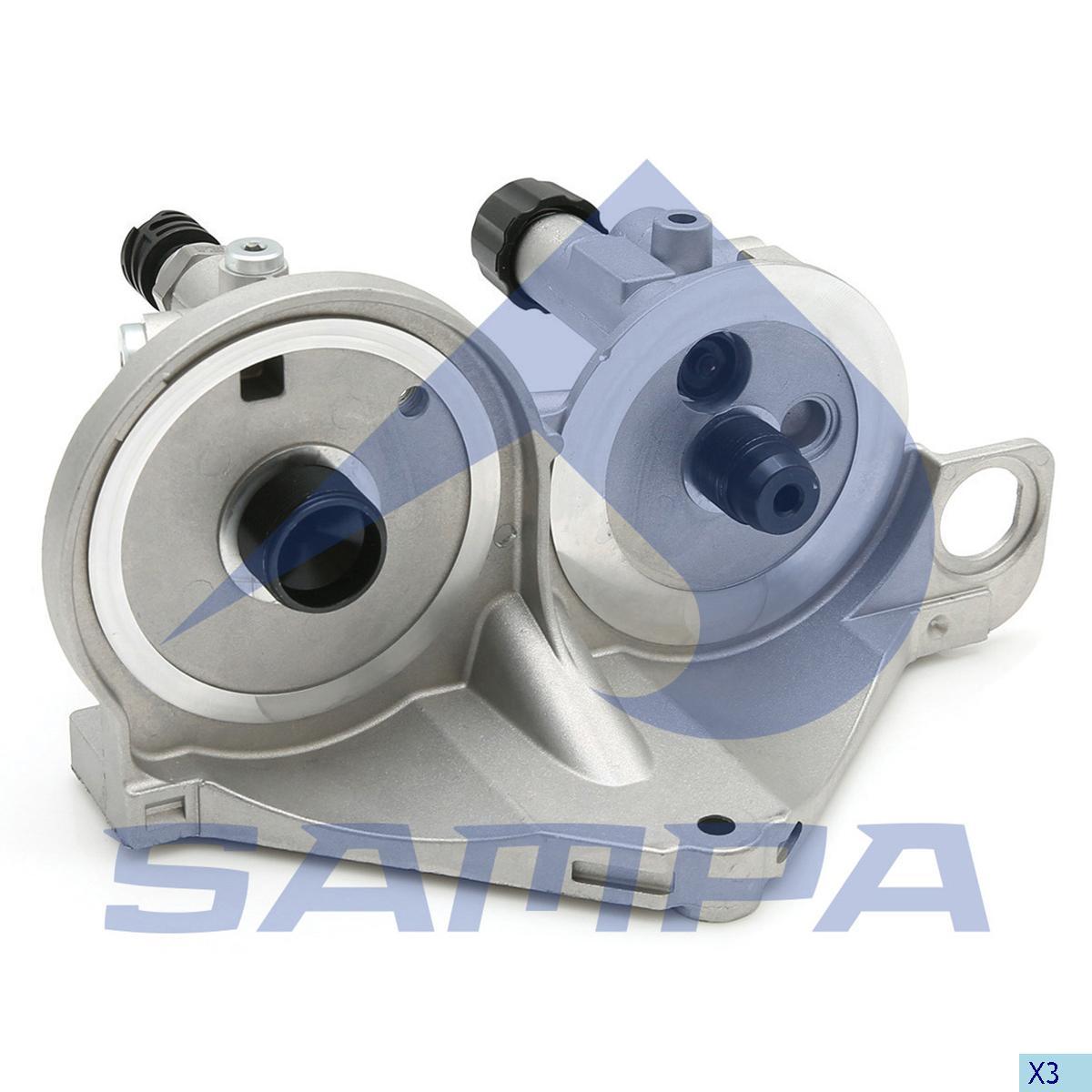 Housing, Fuel Filter, R.V.I., Engine