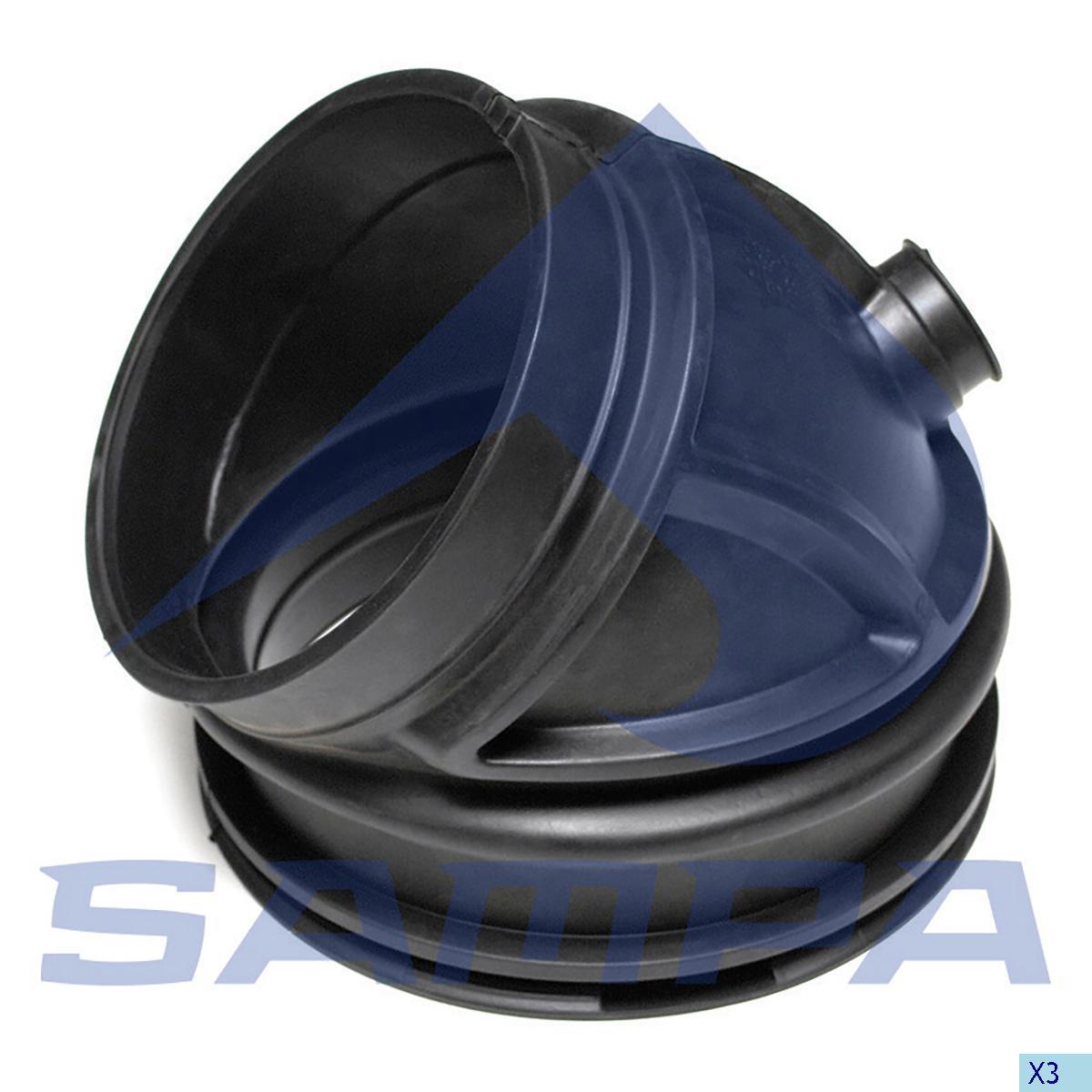 Bellow, Air Filter, Volvo, Engine