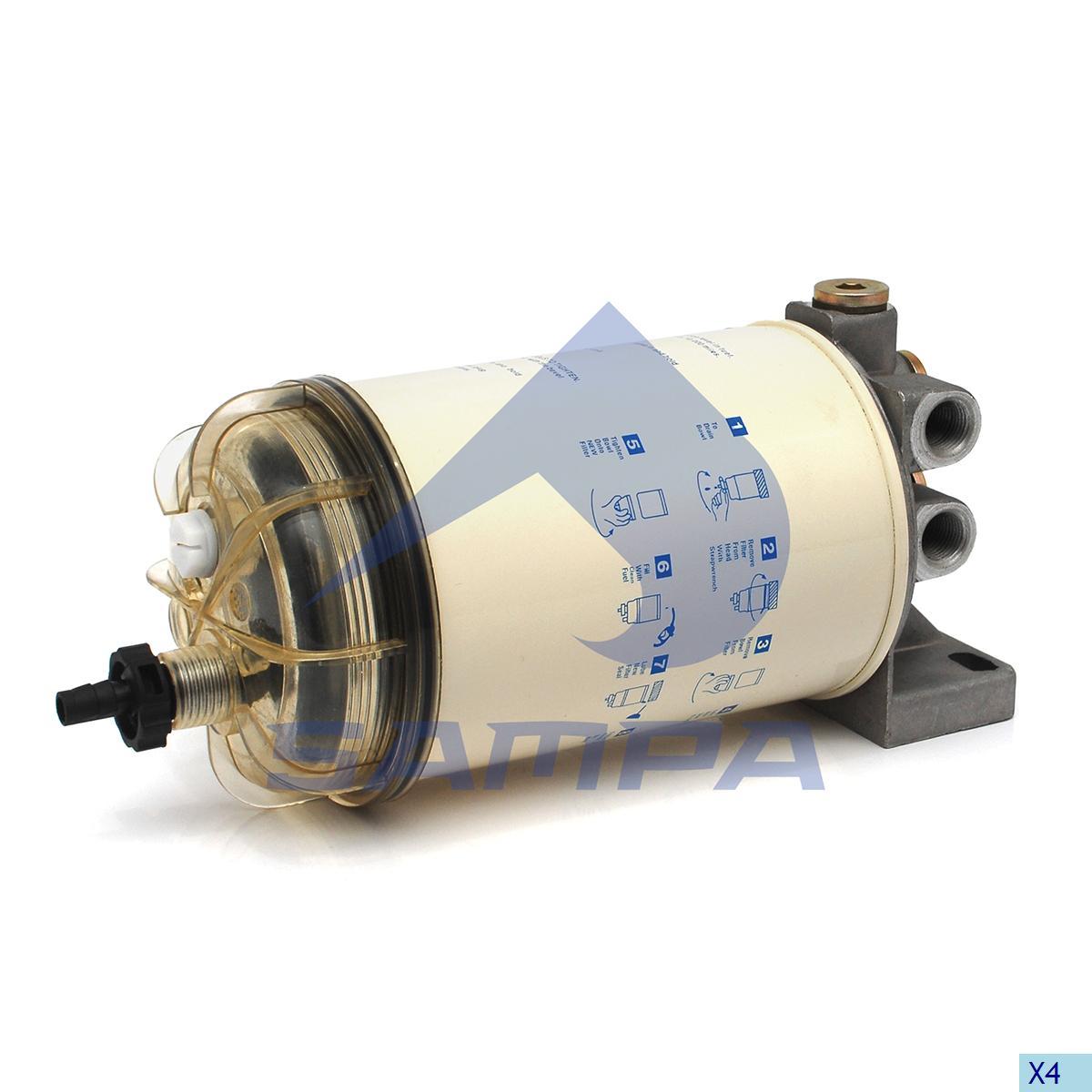 Fuel Filter, Volvo, Engine