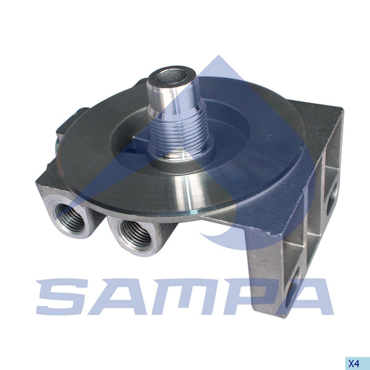 Head, Fuel Filter, Volvo, Engine