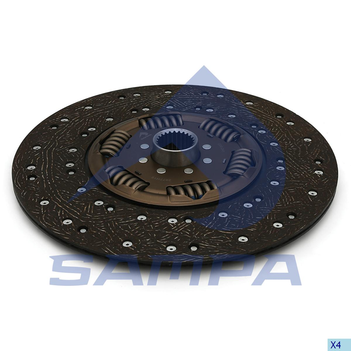 Clutch Disc, R.V.I., Clutch