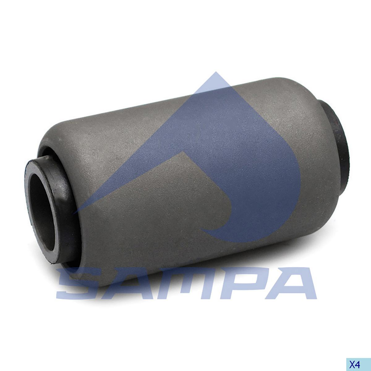 Rubber Bushing, Spring, Scania, Suspension