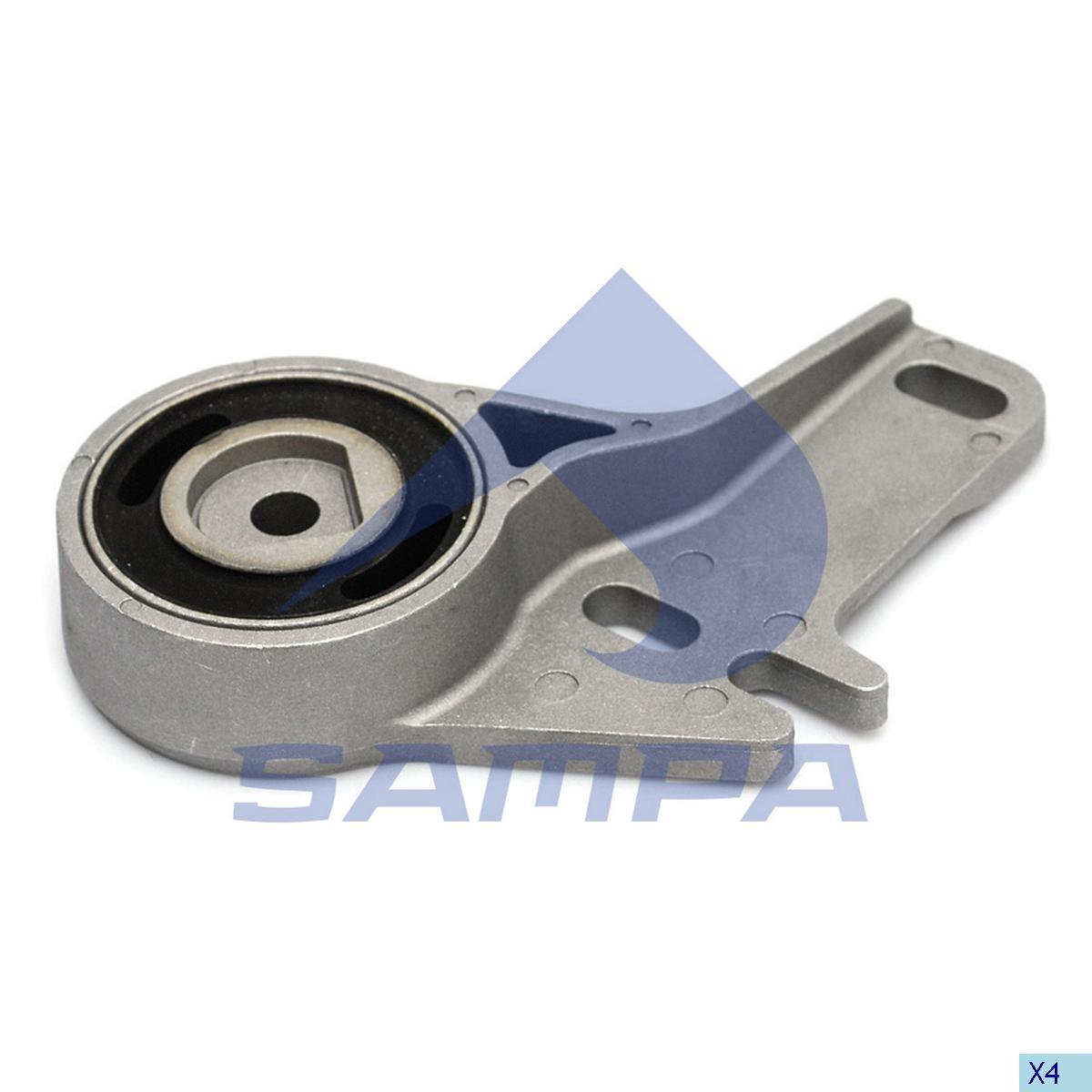 Bracket, Radiator, Scania, Engine
