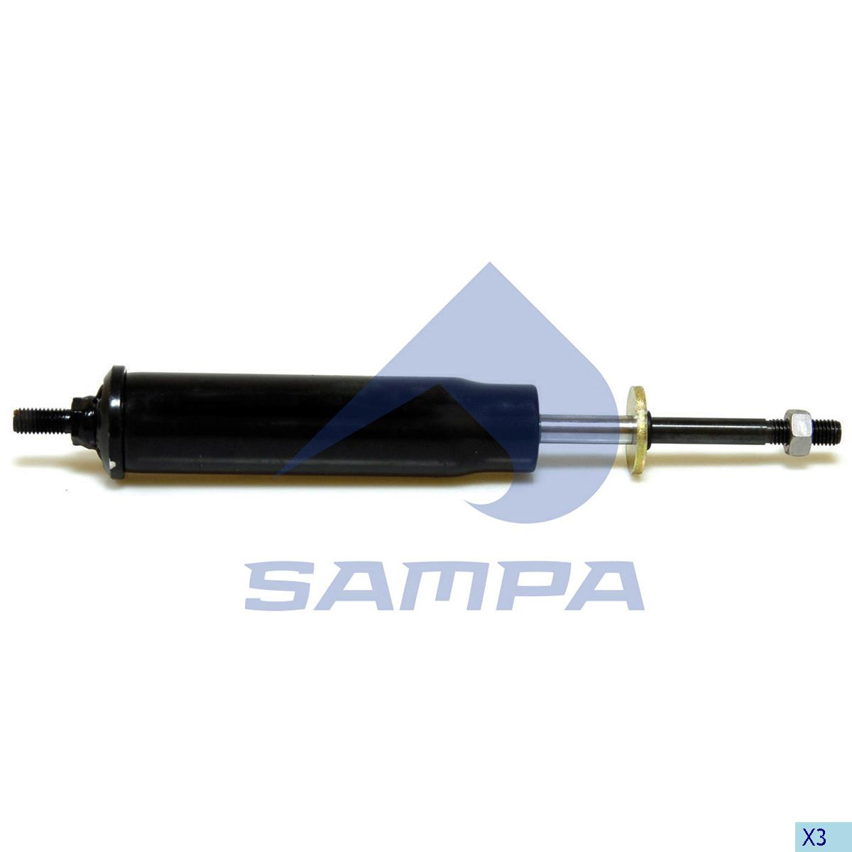 Shock Absorber, Cab, Scania, Cab
