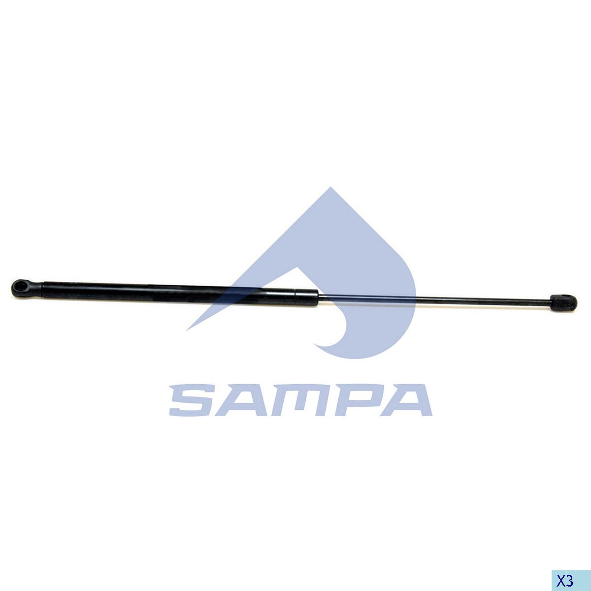 Gas Spring, Scania, Cab