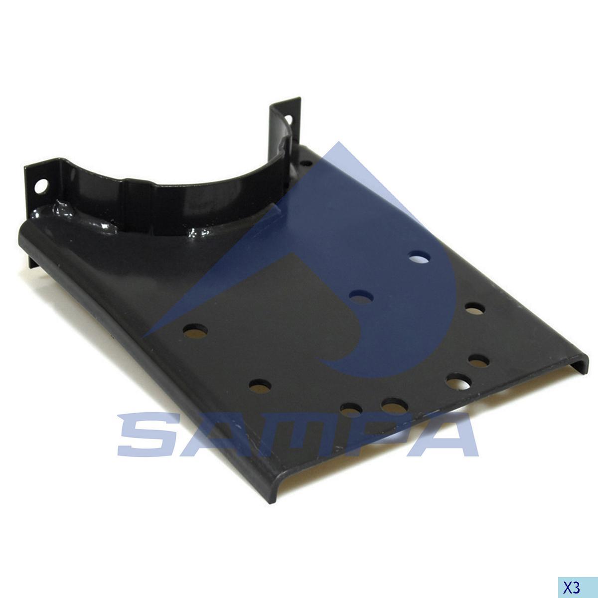 Bracket, Propeller Shaft Bearing, Scania, Propeller Shaft