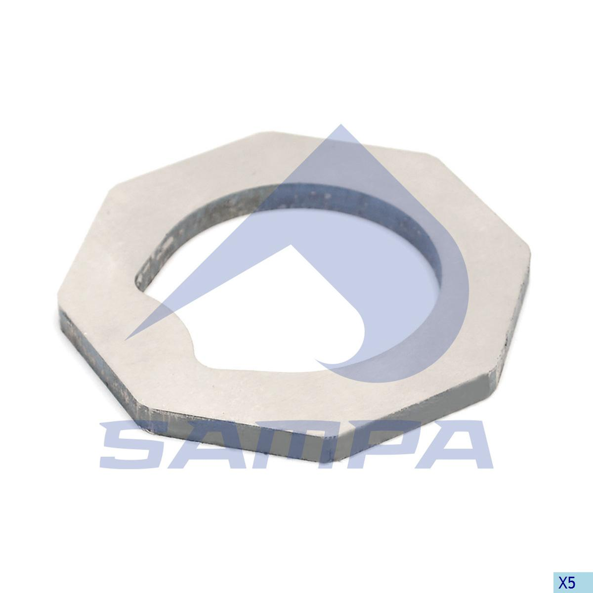 Lock Washer, Axle, Scania, Power Unit