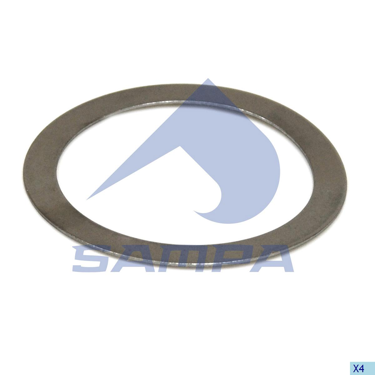 Washer, Propeller Shaft Bearing, Scania, Propeller Shaft