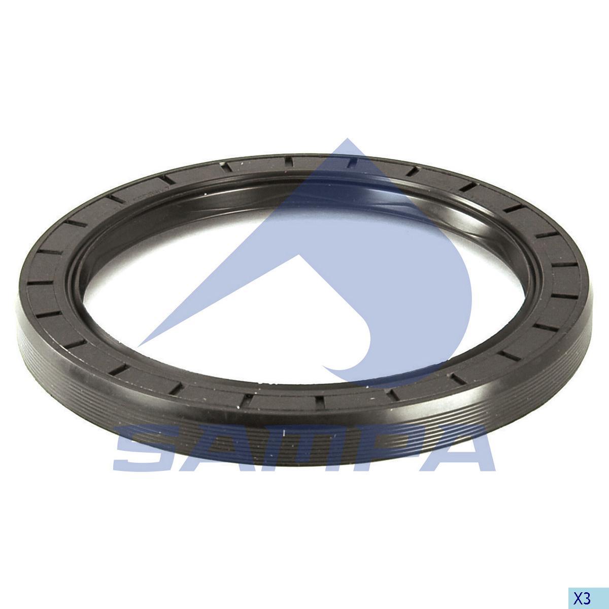 Seal Ring, Wheel Hub, Iveco, Power Unit