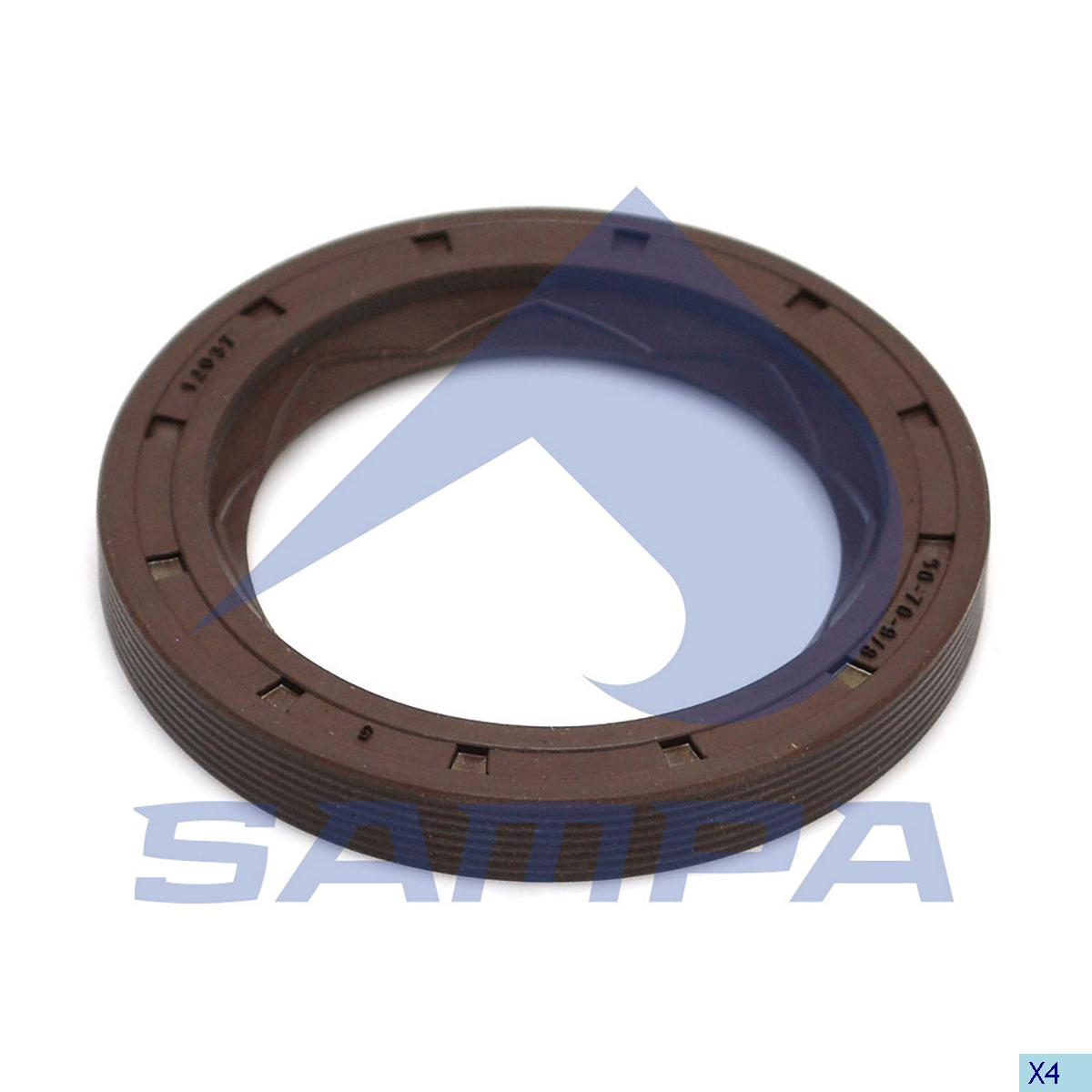 Seal Ring, Wheel Hub, Scania, Power Unit