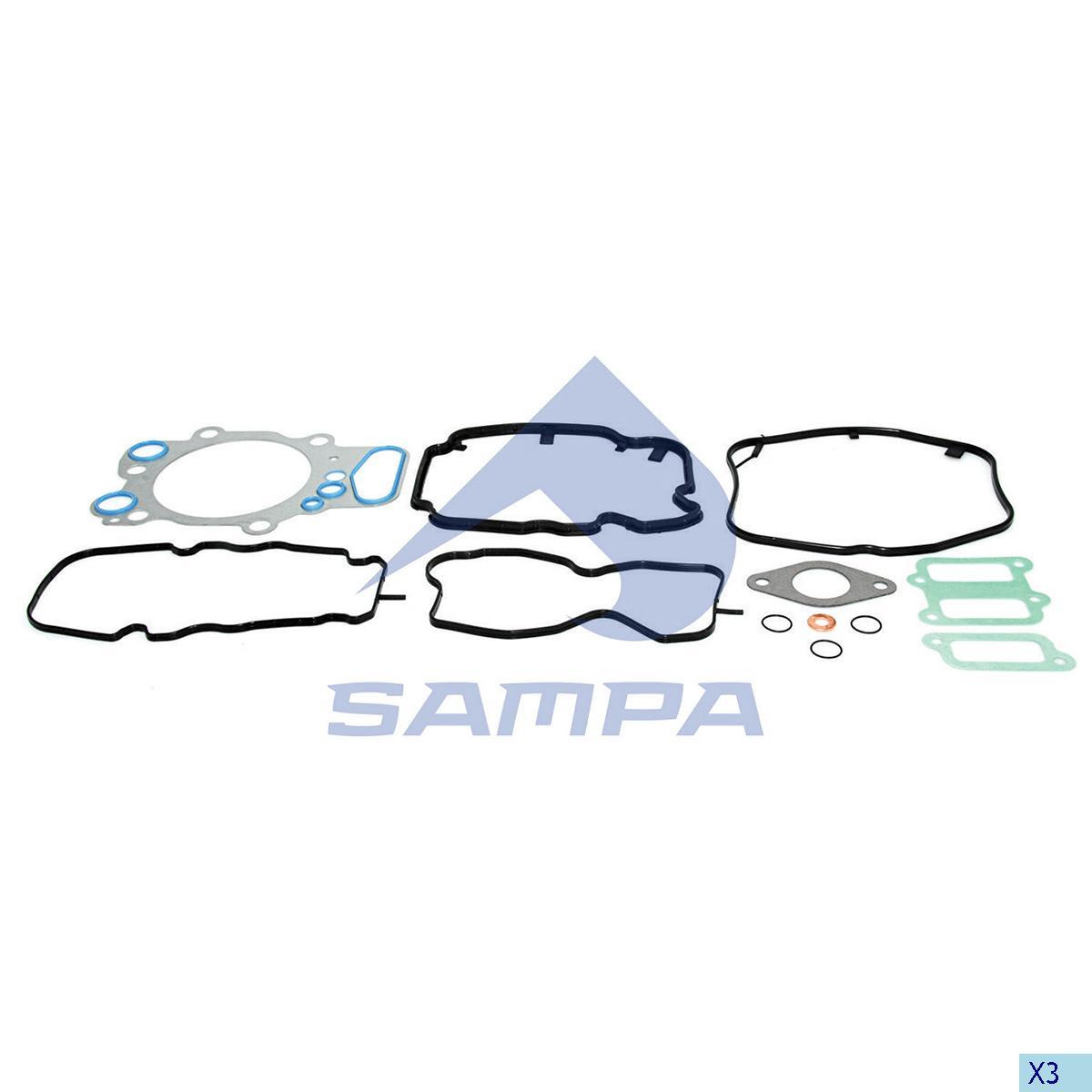 Gasket Kit, Cylinder Head, Scania, Engine
